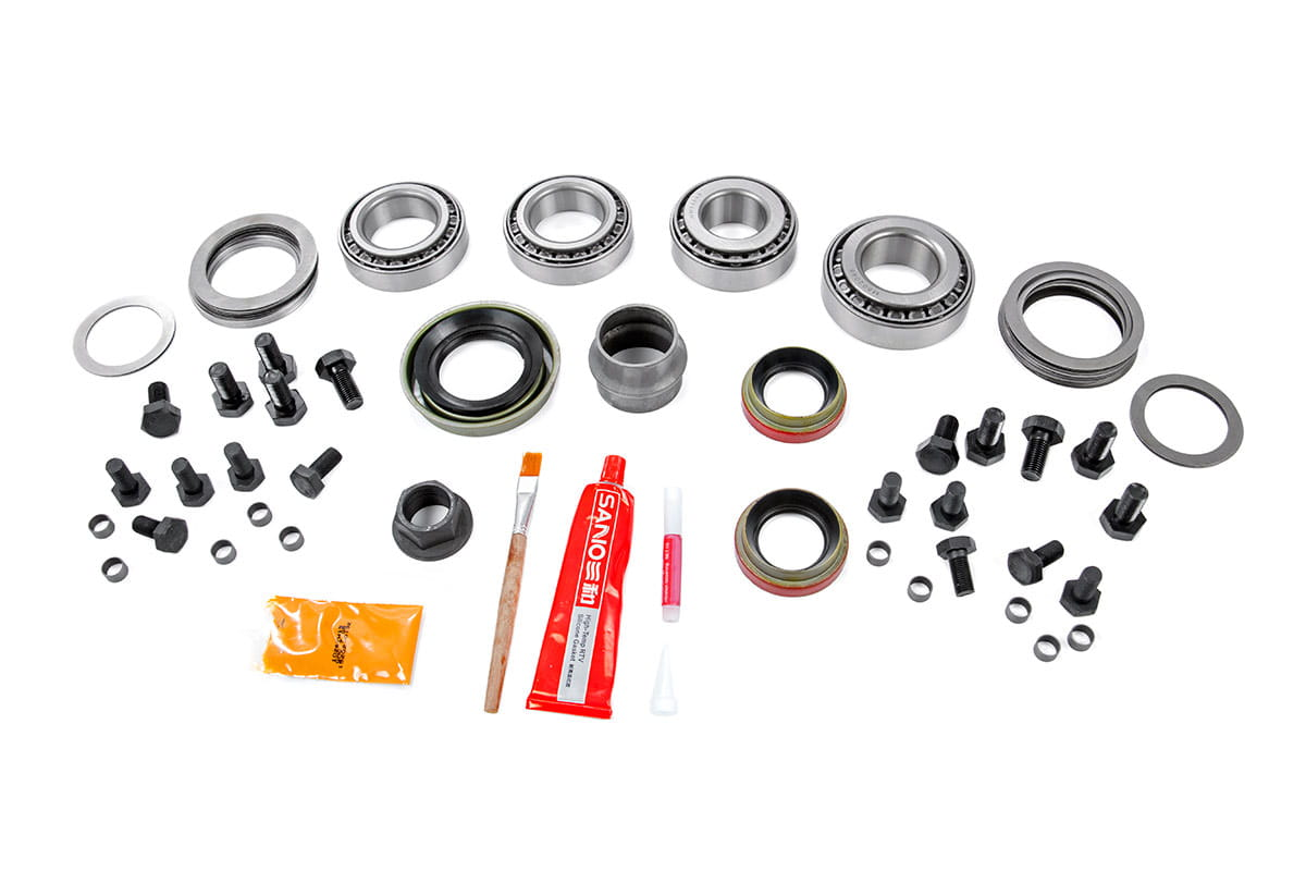 Dana 35 Ring & Pinion Gear Set Master Install Kit (Wrangler YJ / TJ)