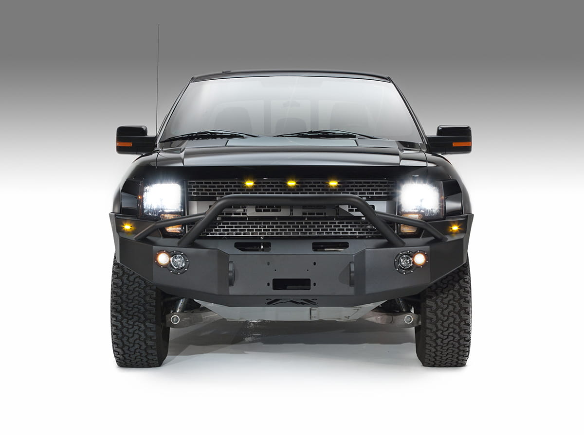 2010-2014 Ford F150 RAPTOR Front Bumper with Pre-runner Grill Guard Bare
