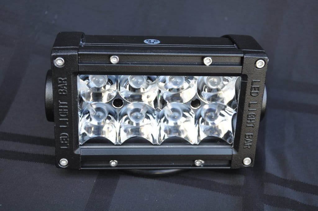 "5"" Light Bar 24W Flood/Spot 3W LED Chrome"
