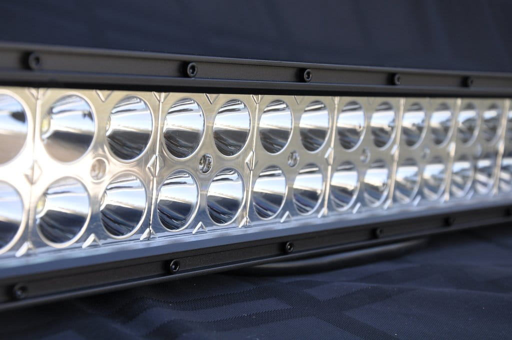"12"" Light Bar 72W Flood/Spot 3W LED Chrome"
