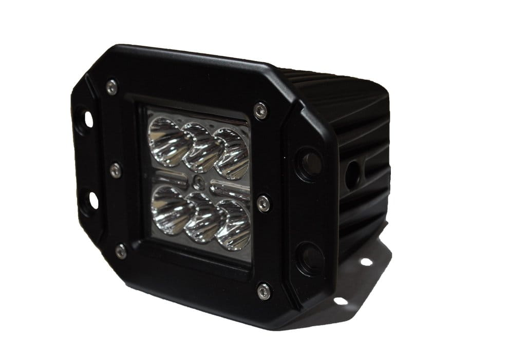 "3"" Flush Mount LED Lights 24W spot 3W"