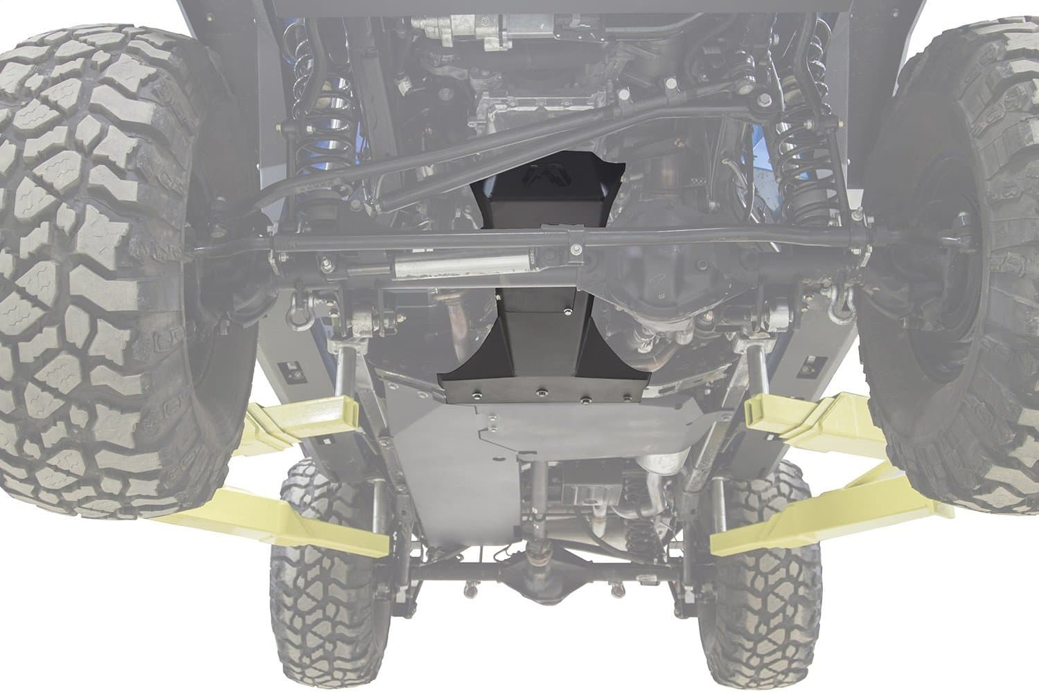 Jeep JK 2007-2017 Transmission & Oil Pan Skidplate Bare