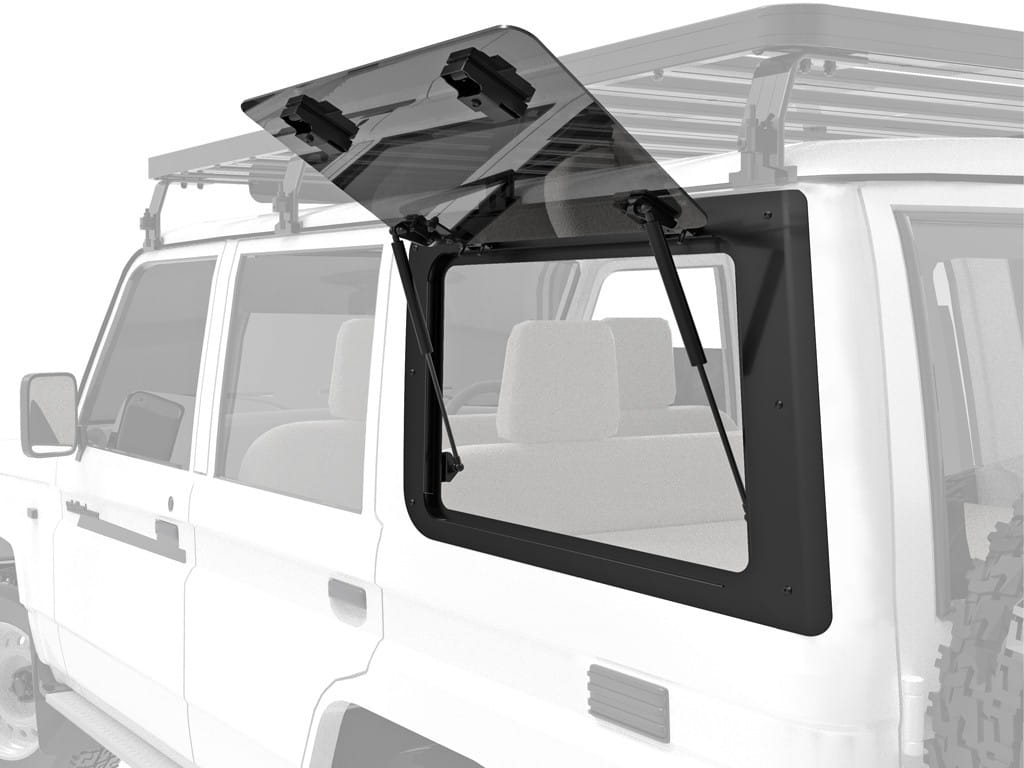 Toyota Land Cruiser 70 Gullwing Window / Left Hand Side Glass - by Front Runner