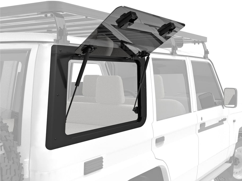 Toyota Land Cruiser 70 Gullwing Window / Right Hand Side Glass - by Front Runner