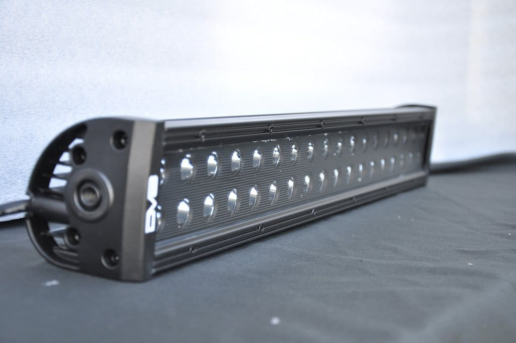 "20"" Light Bar 120W Flood/Spot 3W LED Black"