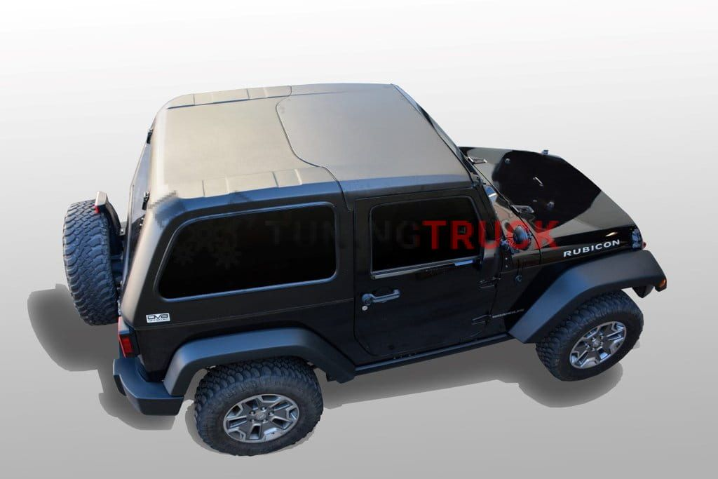 Jeep Hard Top Fast Back JK 2 Door 2 Piece for 07-17 Jeep Wranglers